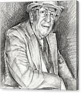 Portrait Of Paul England Canvas Print