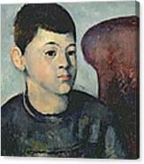 Portrait Of The Artists Son Canvas Print