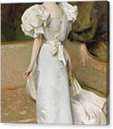 Portrait Of The Countess Of Clary Aldringen Canvas Print