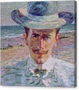 Portrait Of The Lawyer Canvas Print