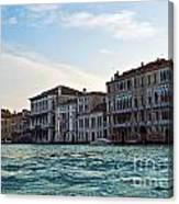 Portrait Of Venice Canvas Print