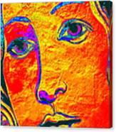 Portrait Of Venus Canvas Print