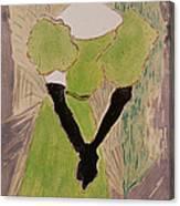 Portrait Of Yvette Guilbert Canvas Print