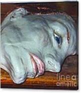 Portrait Sculpture Canvas Print
