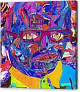 Portraiture Of Passion V2 Canvas Print