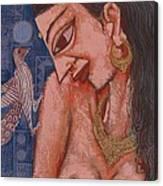 Portraiyal -ix Canvas Print