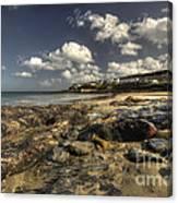 Portscatho Beach  Canvas Print