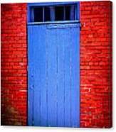 Portsmouth Door 6 Canvas Print