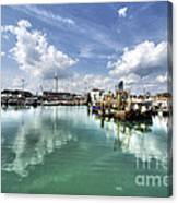 Portsmouth Old Harbour  Canvas Print