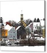 Portsmouth Waterfront Pwwc Canvas Print
