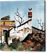 Portugal  Abandoned Nr  Loule Canvas Print