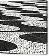Portuguese Pavement Canvas Print