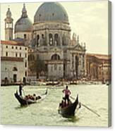 Postcard From Venice Canvas Print