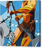 Poseidon - W/hidden Pictures Canvas Print