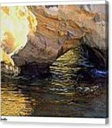 Poseidons Grotto Canvas Print