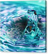 Poseidons Warriors Xiv Canvas Print