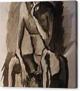 Post-coital Contemplation Canvas Print