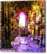 Post-it Archway Canvas Print