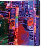 Post No Bills Panel 2 Of 3 Canvas Print
