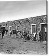 Post Office In Ganado, Arizona Canvas Print