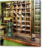 Post Office In General Store Canvas Print