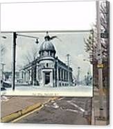 Post Office In Pawtucket Rhode Island Canvas Print