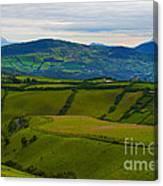 Postcard From Ecuador... Canvas Print