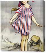 Poster Banque De Paris Canvas Print