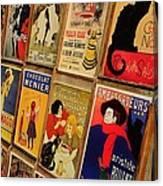 Posters In Paris Canvas Print