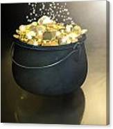 Pot Of Gold Canvas Print