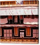 Potala Palace Rooftop - Lhasa Tibet Canvas Print