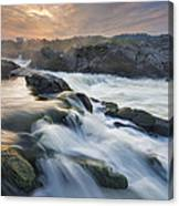Potomac Light Show Canvas Print