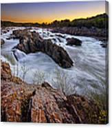 Potomac Rush Canvas Print