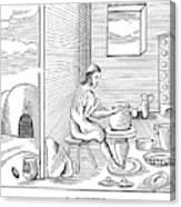 Potter, 1659 Canvas Print