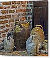 Pottery Corner Canvas Print
