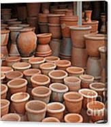 pottery in Madagascar Canvas Print