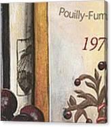 Pouilly Fume 1975 Canvas Print