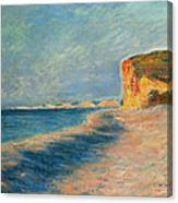 Pourville Near Dieppe Canvas Print
