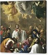 Poussin, Nicolas 1594-1665. Saint Canvas Print