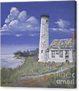 Poverty Island Lighthouse Canvas Print