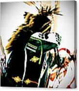 Pow Wow-44671 Canvas Print