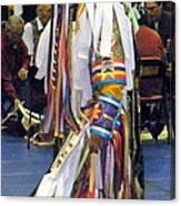 Pow Wow Dancer Canvas Print