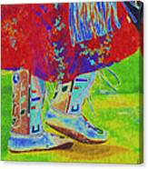 Pow Wow Dancing Canvas Print
