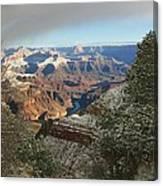 Powder Coated Canyon Canvas Print