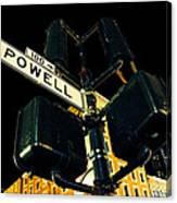 Powell Street Canvas Print