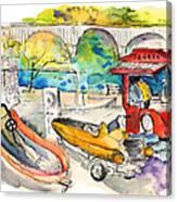 Power Boats World Championship In Barca De Alva 03 Canvas Print