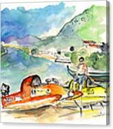 Power Boats World Championship In Barca De Alva 04 Canvas Print