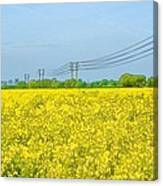 Power Lines In Innsworth Canvas Print