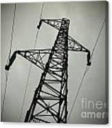 Power Pole Canvas Print