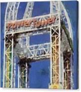 Power Tower Cedar Point Canvas Print